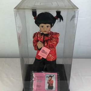 Lot # 48 - Paradise Galleries·Porcelain Doll Tender Peony