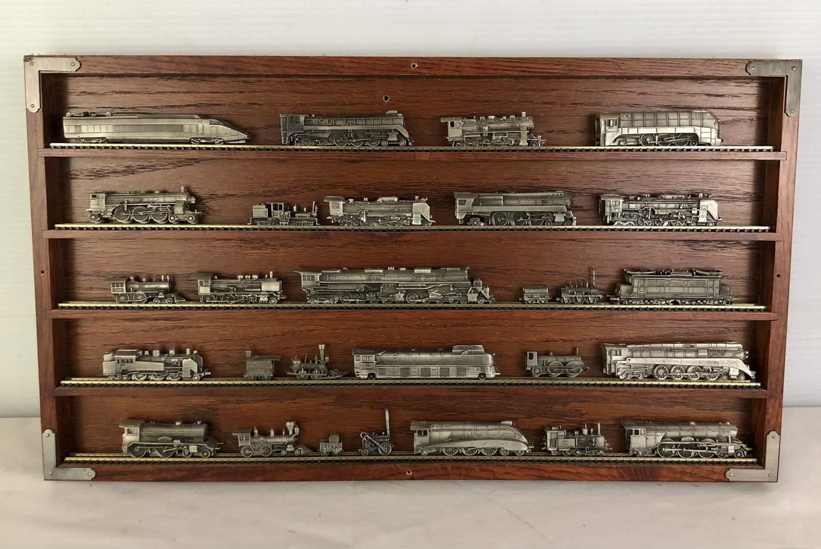 Lot # 52 - World's Greatest Locomotive Train Set Display Piece (main image)