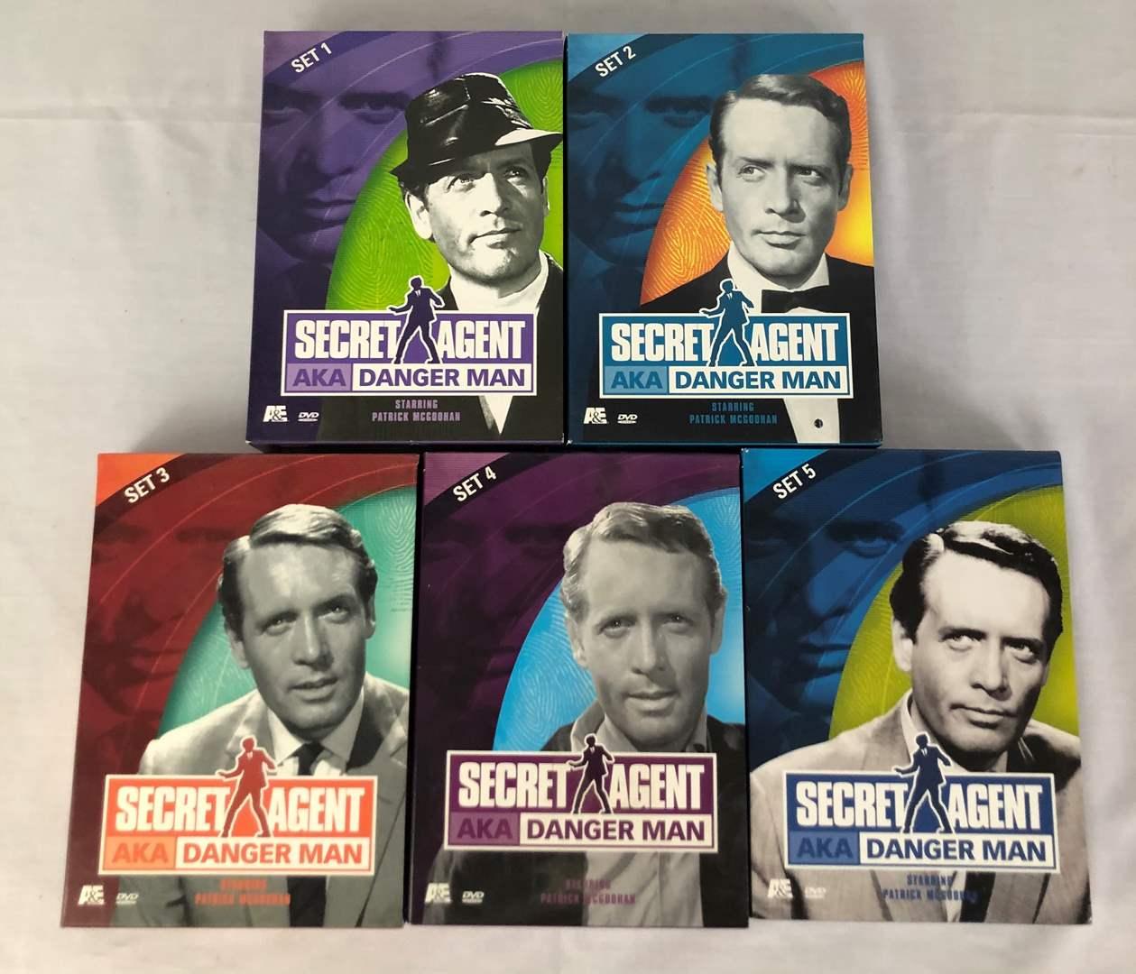 Lot # 60 - Secret Agent aka Danger Man DVD Set 1 - 5 (main image)