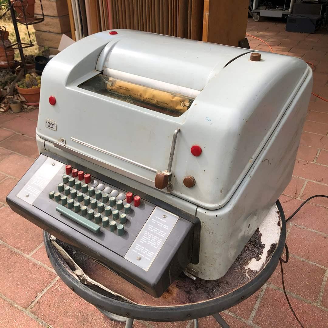 Lot # 75 - Teletype Corporation Model 28 (main image)
