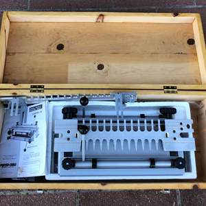 Lot # 88 - Porter Cable Dovetail Jig With Router Bits