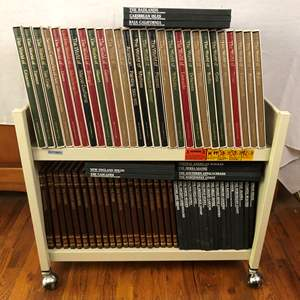 Lot # 91 - 3 Time Life Book Sets - The American Wilderness - The Old West - Library of Art - 75 Books Total!