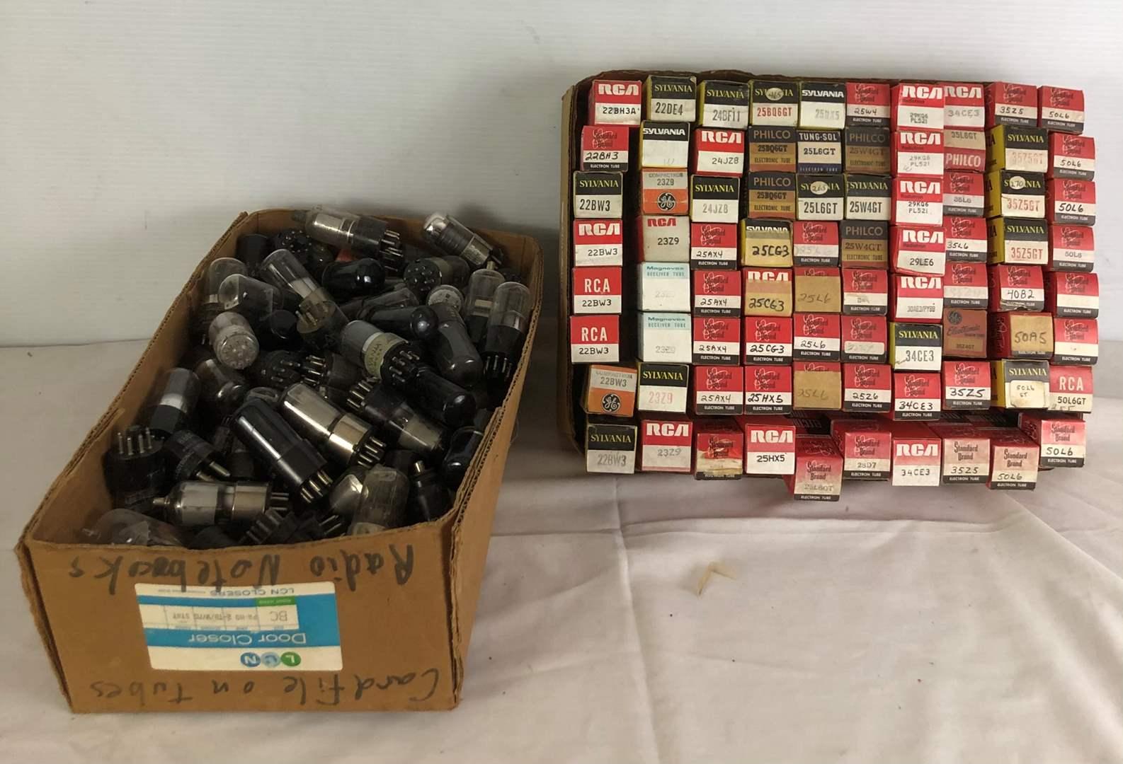 Lot # 98 - Lot of Vacuum Tubes (main image)