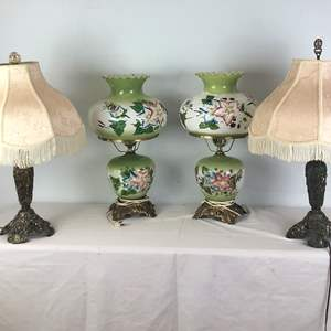 Lot # 104 - Lot of various table lamps