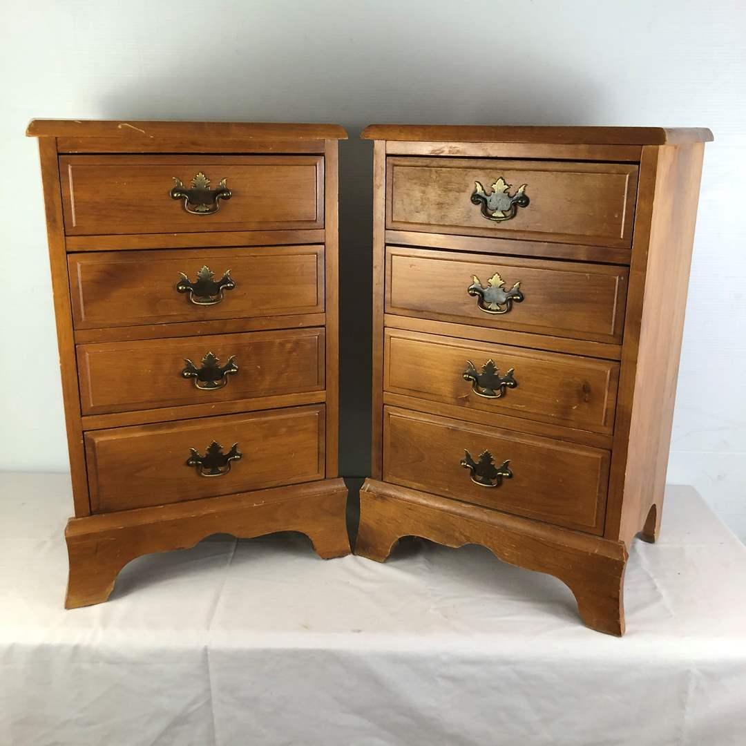 Lot # 112 - Bedside Dresser Drawers Nightstands