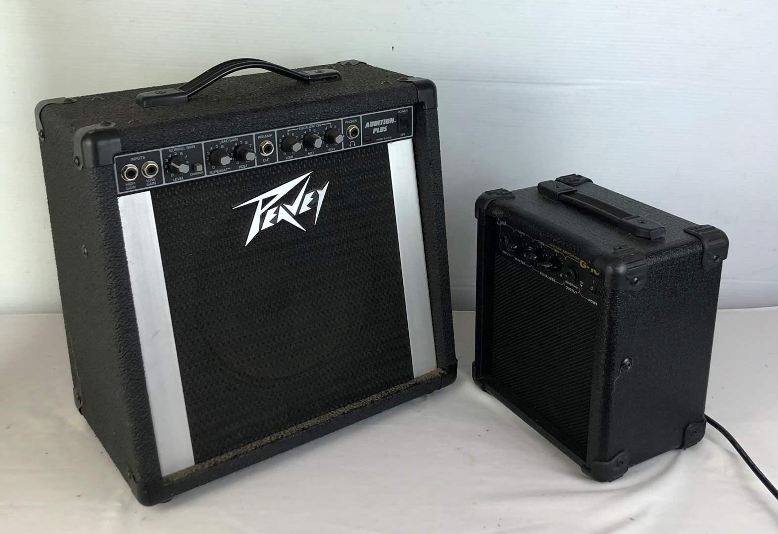 Lot # 134 - 2 Guitar Amps