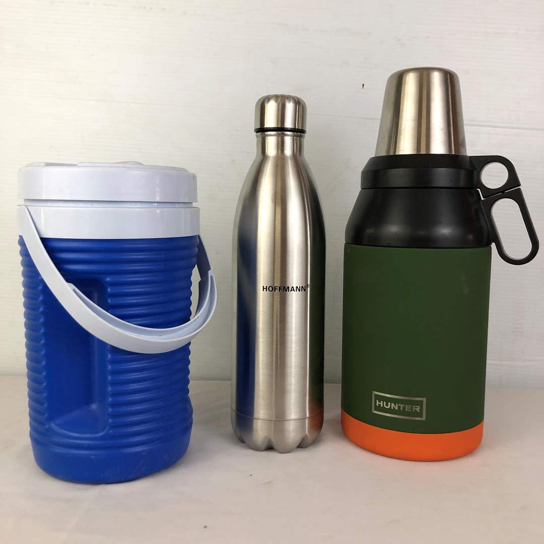 Lot # 141 - 3 Insulated Thermoses (main image)