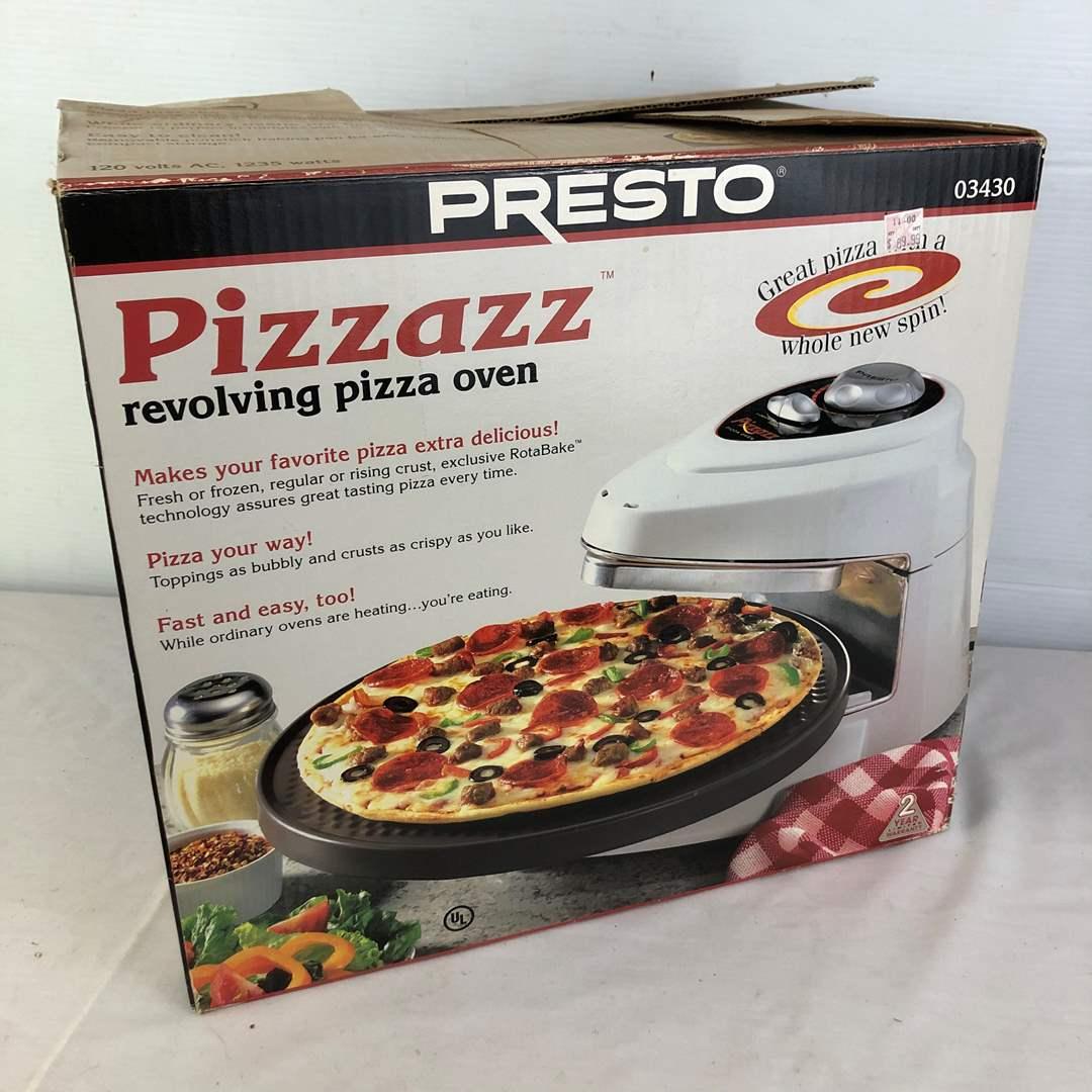 Lot # 150 - Presto Pizzazz Pizza Oven (main image)