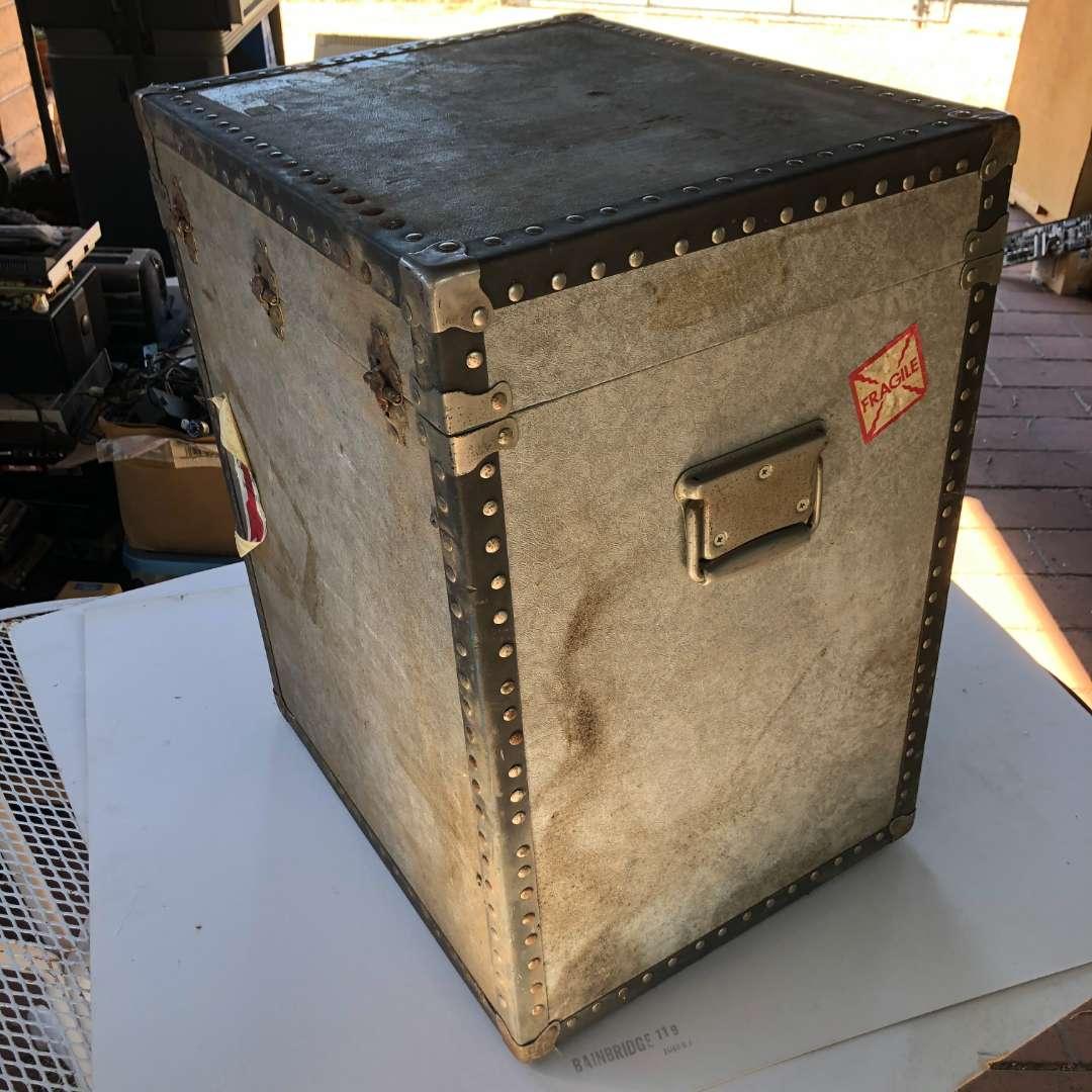 Lot # 159 - Large Storage Crate Box  (main image)