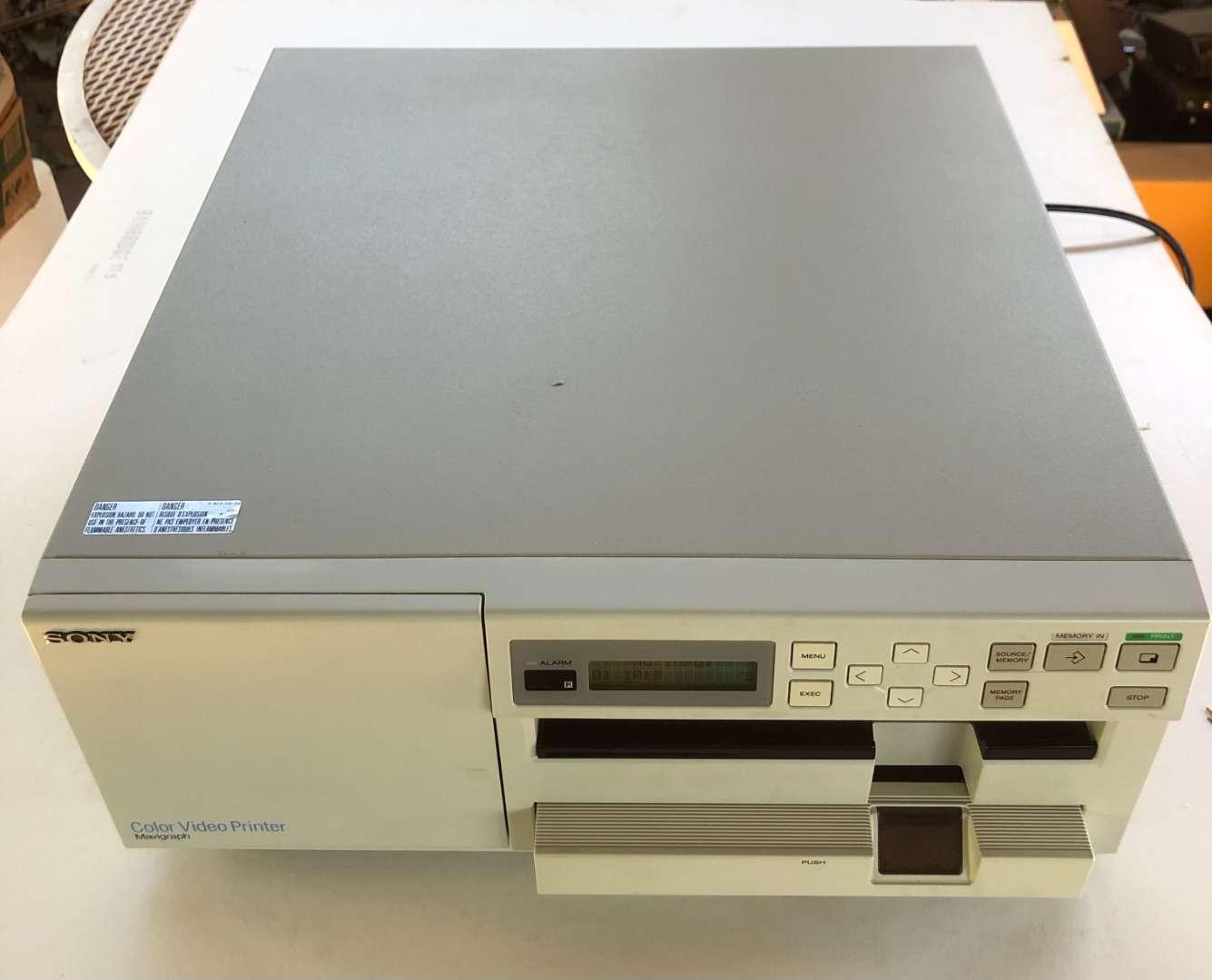 Lot # 160 - 2 Sony Video Printers UP5200 (main image)