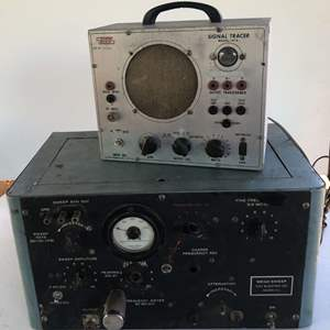 Lot # 163 - EICO Signal Tracer and Kay Electric Co Mega-Sweep