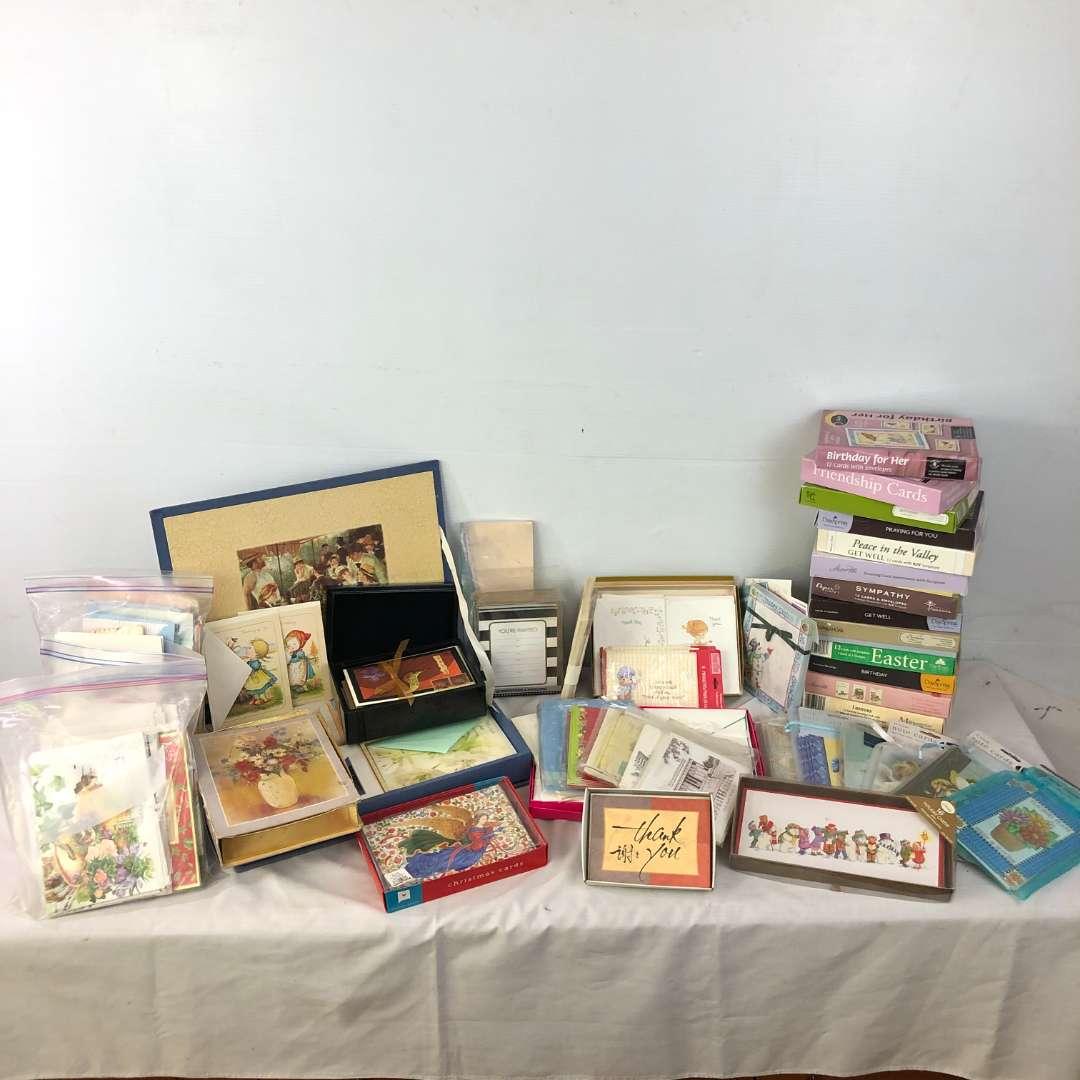 Lot # 186 - Huge Lot of Various Greeting Cards (main image)