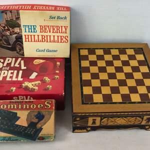 Lot # 2 -  Vintage Game Lot