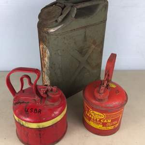 Lot # 61 - Vintage Gas Can Collection