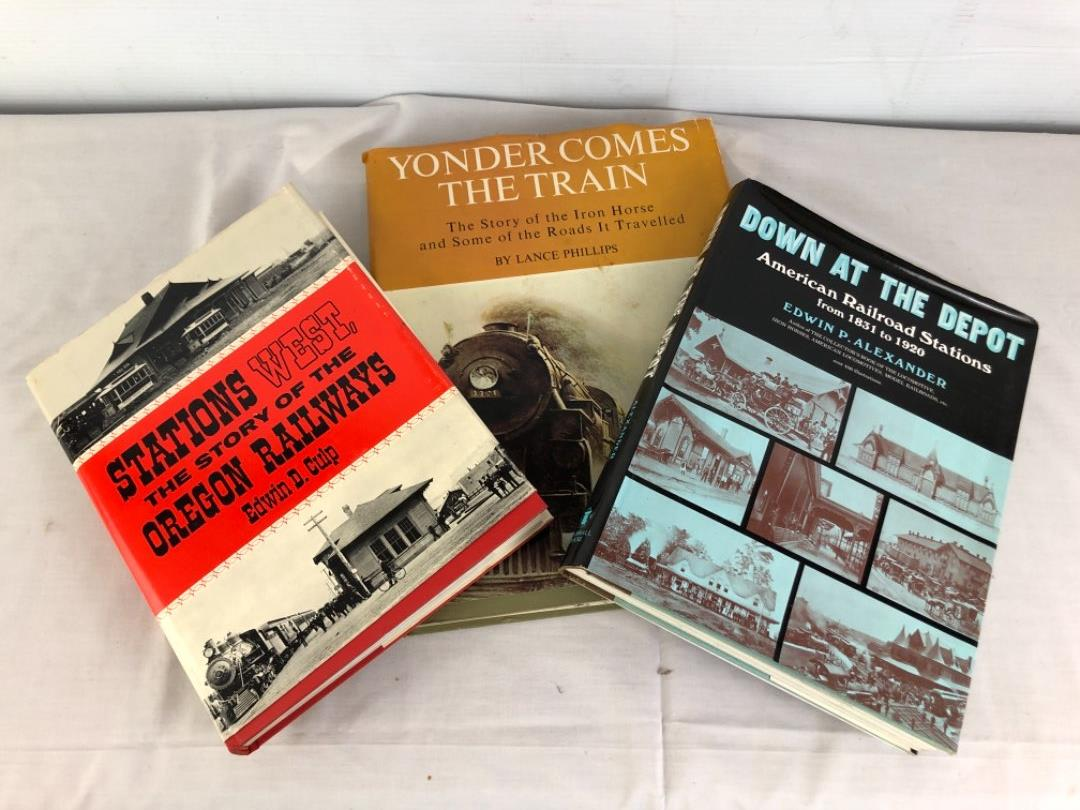 Lot # 65 -  Railroad Train Books