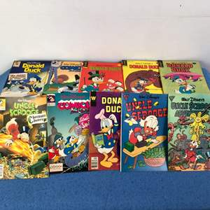 Lot # 71 - 21 Various Donald Duck Uncle Scrooge Comic Books Lot 1 of 3