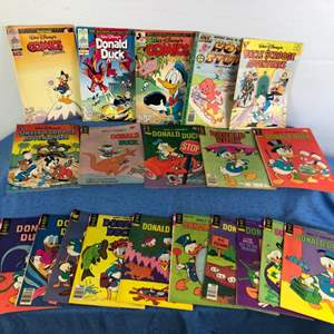 Lot # 73 - 21 Various Donald Duck Uncle Scrooge Comic Books Lot 3 of 3