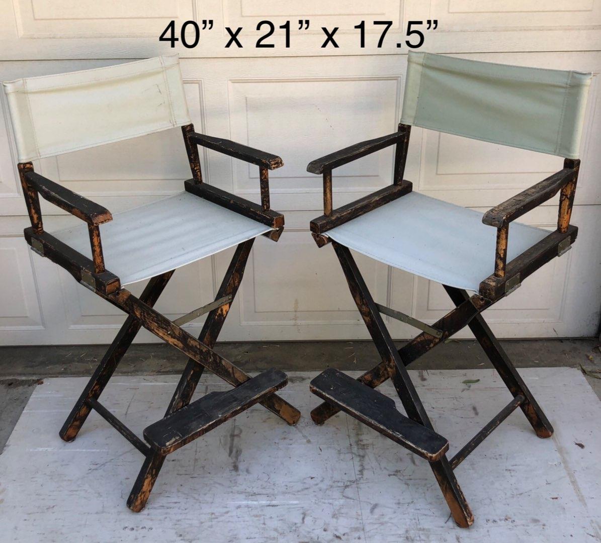 Lot # 132 - 2 Directors Chairs