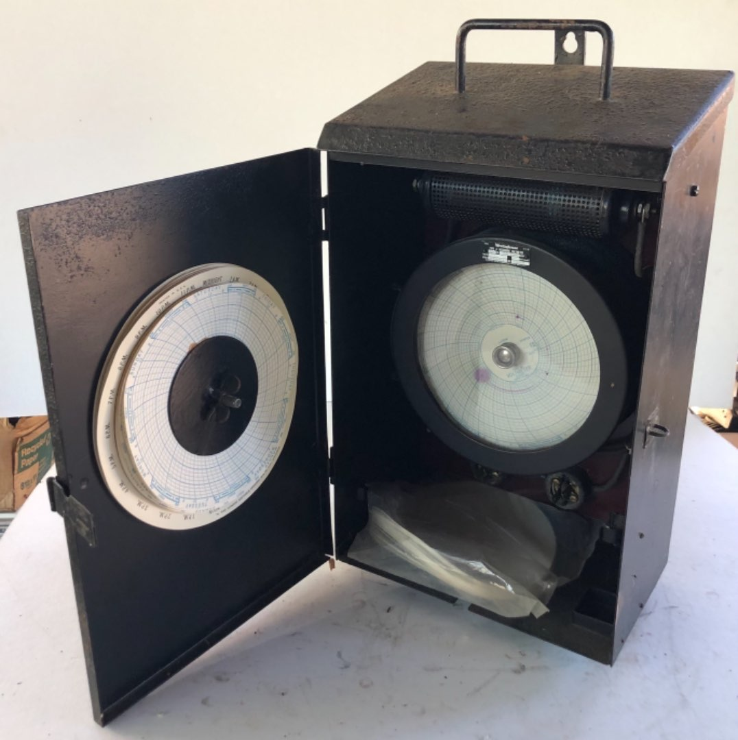 Lot # 168 - Westinghouse Type A Recording Voltmeter