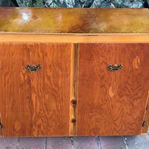 Lot # 171 - Solid Wood Cabinet