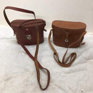 Lot # 188 - 2 Vintage Binoculars Tasco Deluxe and Nitschke Rathenow