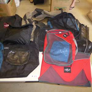 Auction Thumbnail for: Lot # 25 - Packing Cubes & Easy Travel Bags (Eagle Creek, Hi Point, North Face)
