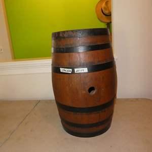 Lot # 109 - Antique Whiskey Barrel