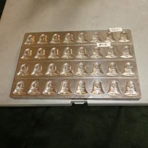 Lot # 118 - Antique VAN DUNGEN Industrial Christmas Candy Bells Chocolate Mold