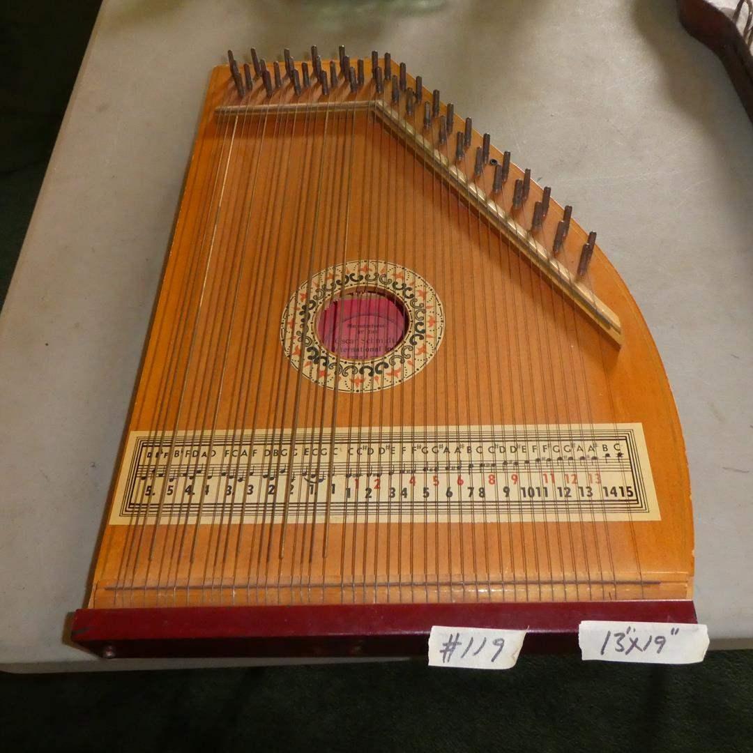 Lot # 119 - Oscar Schmidt - Vintage American Mandolin Harp (main image)