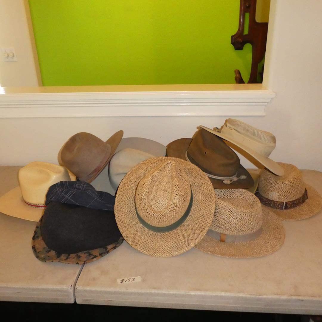 Lot # 153 - Men's Vintage Hat Collection
