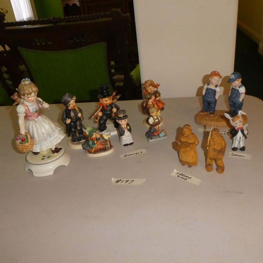 Lot # 197 - Vintage Goebel Hummel W. Germany & Other Figurines (main image)
