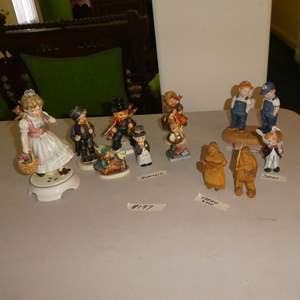 Lot # 197 - Vintage Goebel Hummel W. Germany & Other Figurines
