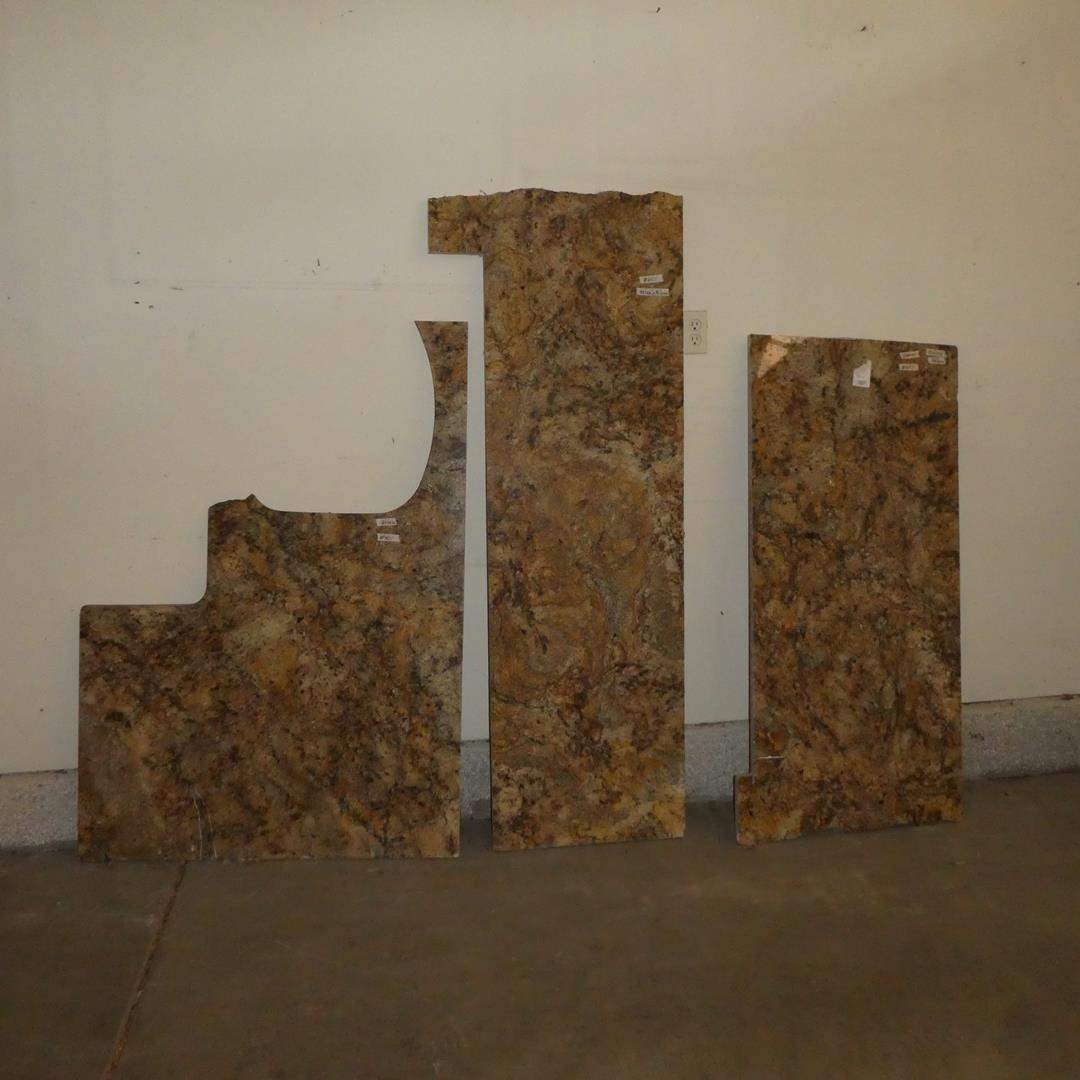 """Lot # 601 - Three Slabs of ¾"""" Granite For Counter Tops (main image)"""