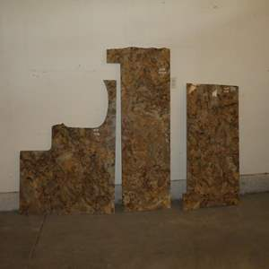 """Lot # 601 - Three Slabs of ¾"""" Granite For Counter Tops"""