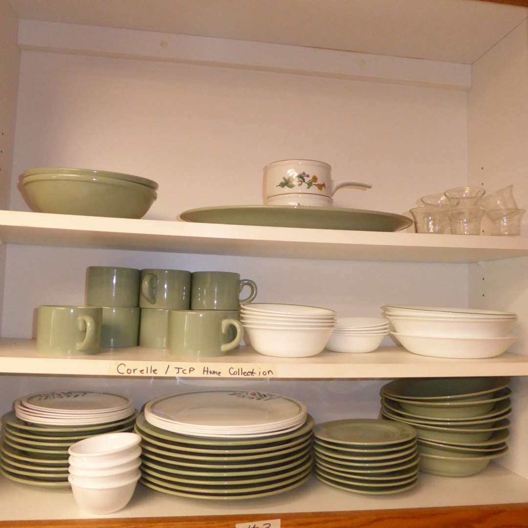 Lot # 3 - Kitchen Dishes - Corelle & JCP Home Collection (main image)