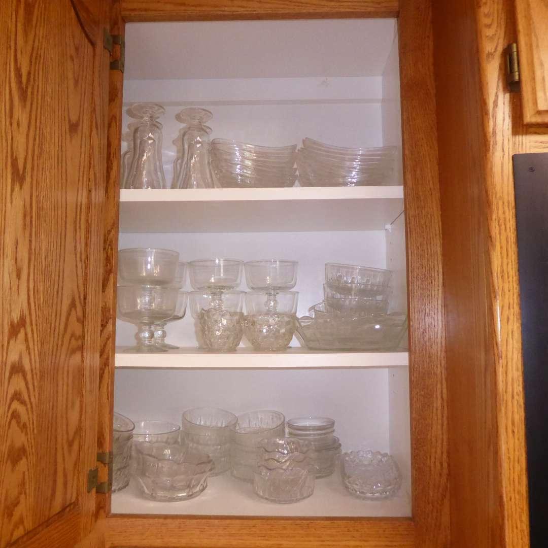 Lot # 8 - Glass Dessert Cups & Bowls  (main image)