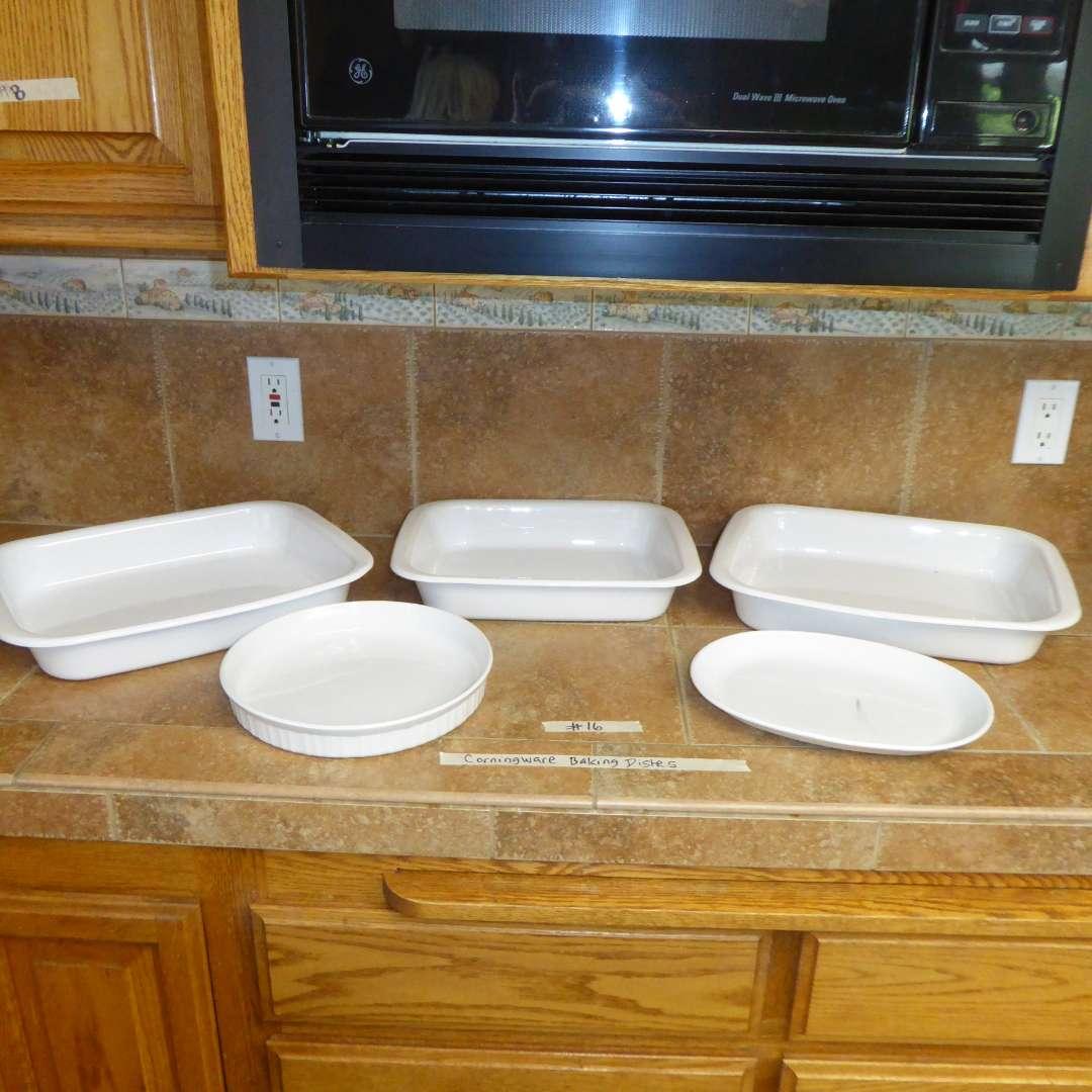 Lot # 16 - CorningWare Baking Dishes (main image)
