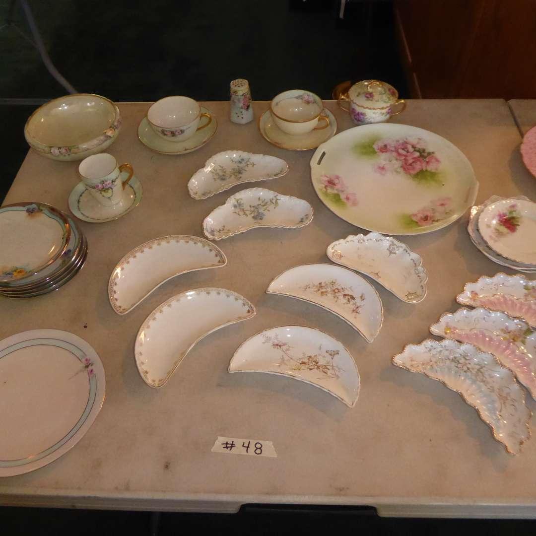 Lot # 48 - Bone Dishes & Other Vintage China  (main image)
