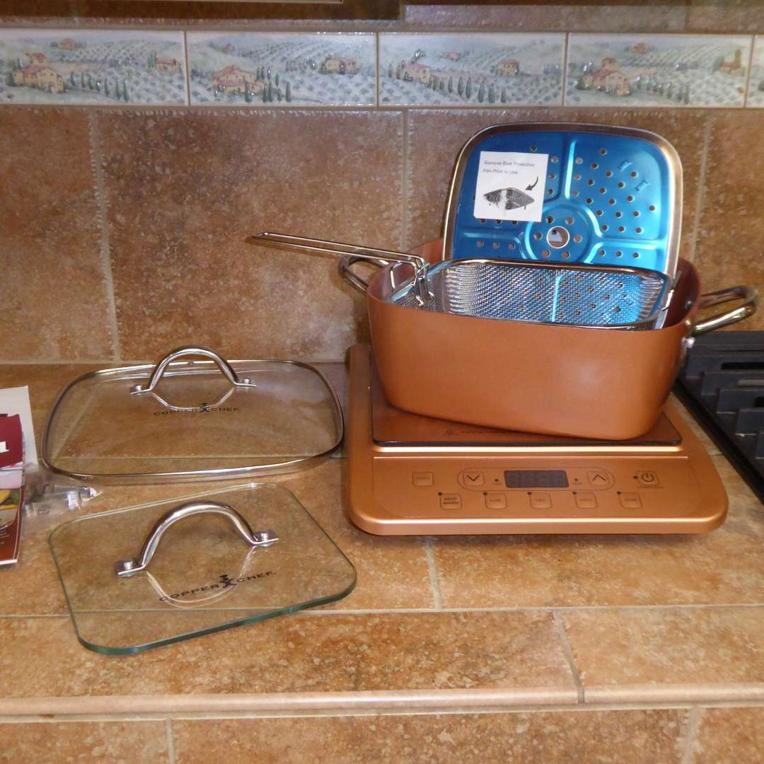 Lot # 59 - Copper Chef Induction Cooktop  (main image)
