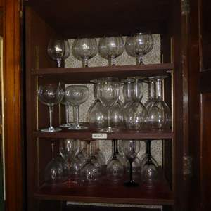 Lot # 60 - Glass Stemware