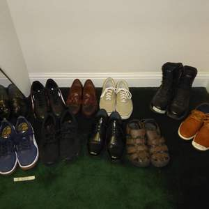 Lot # 95 - Lot Of Men's Shoes (Mostly Size 13)