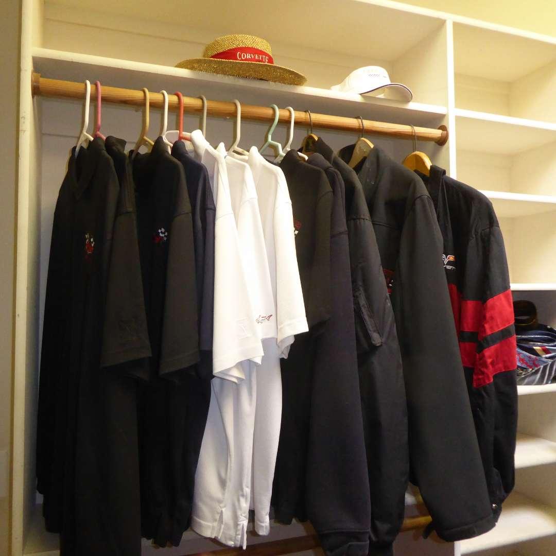 Lot # 98 - Corvette Hats & Jackets (main image)
