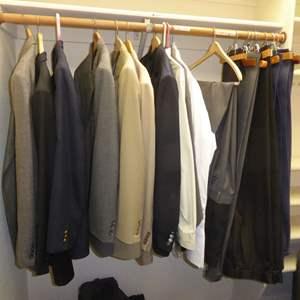 Lot # 277 - Men's Suit Jackets, Slacks & Dress Shirts