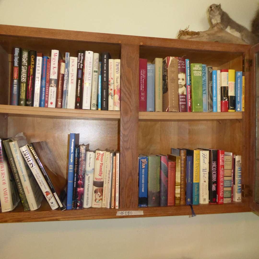 Lot # 280 - Lot Of Books (Fiction, Trees, Birds & Flowers) (main image)