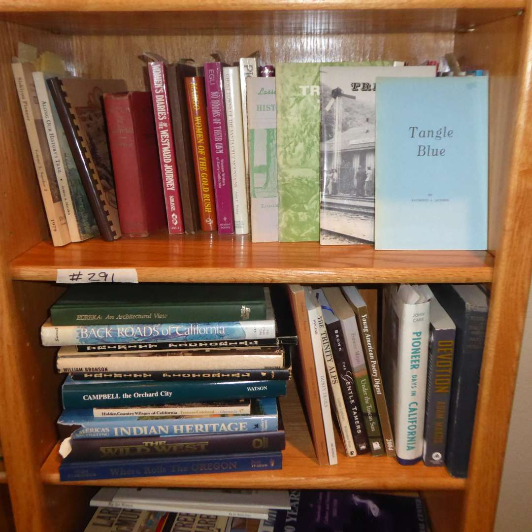 Lot # 291 - Book Lot (Trinity, Gold Rush, Pioneer Women, California) (main image)