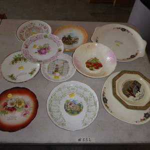 Lot # 552  - Vintage & Antique Collectible Advertising Plates