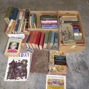 Lot # 556  - Miscellaneous Book Lot (Modern, Vintage Antique)