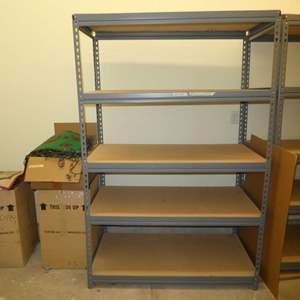Lot # 510  - Heavy Duty Utility Shelving (One Unit)