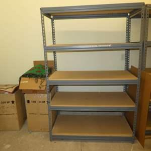 Lot # 511 - Heavy Duty Utility Shelving (One Unit)