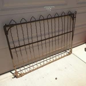 Lot # 436 - Antique Metal Garden Gate